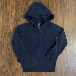 3/$30 Bluenotes Navy Sweatshirt Hoodie
